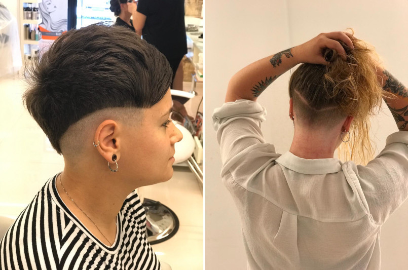 peinados rapados img1 - amm estilistas